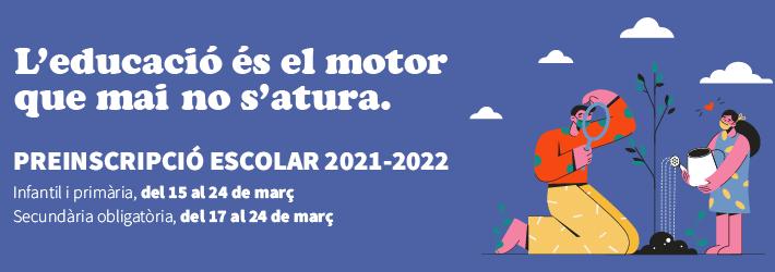 Preinscripció 2021-2022